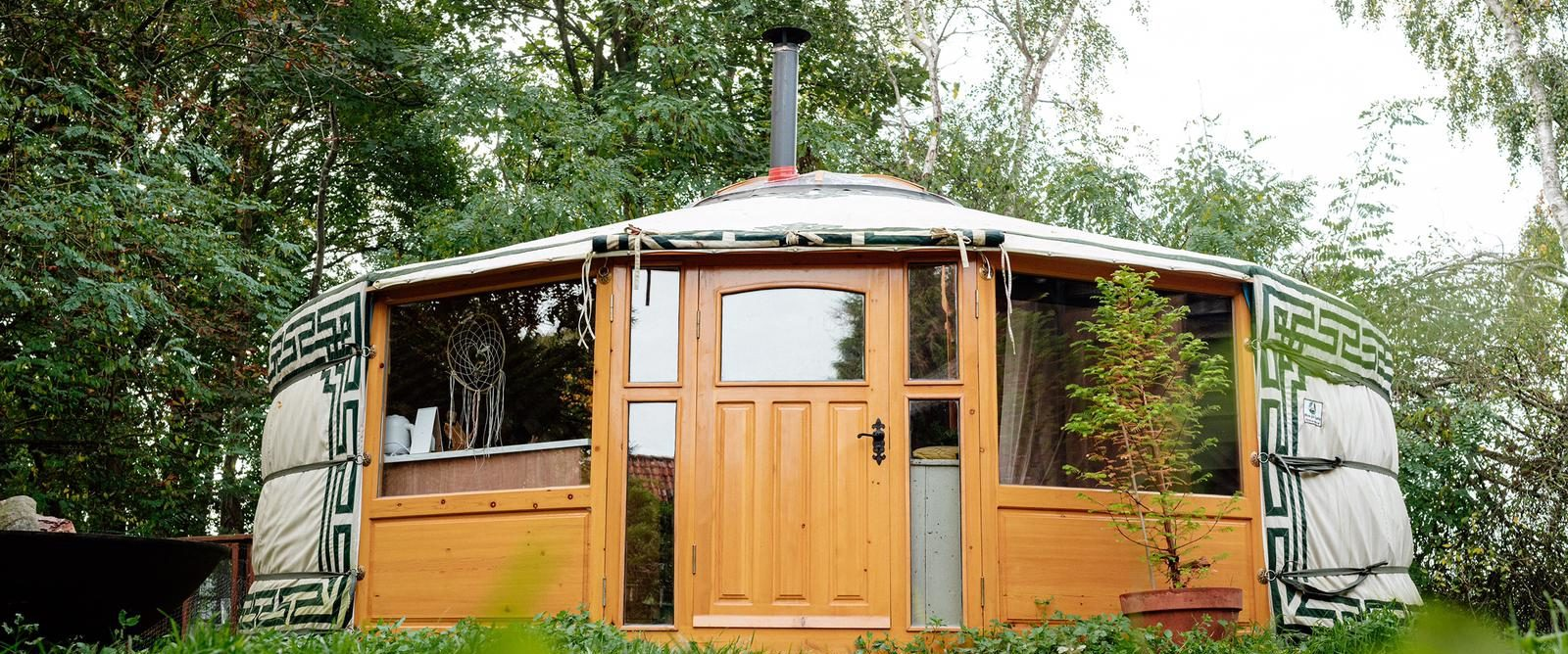 De Yurt in de buurt van Breda